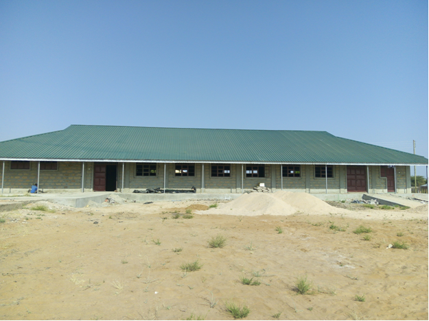 The new Dormitory under construction with a capacity of 210 pupils, it is not complete and we would like to start using it in third term 2018. Many pupils would like to become boarders but since the dormitory is incomplete we cannot give them that chance. Once it is finished we will be able to reduce the number of pupils using school transport.